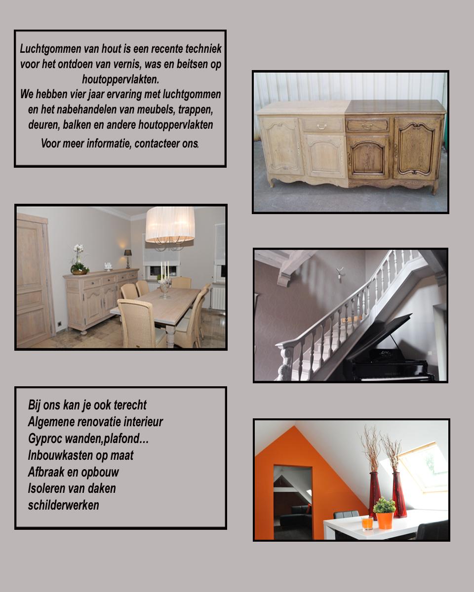 Luchtgommen renovatie hout - Renovatie hout ...